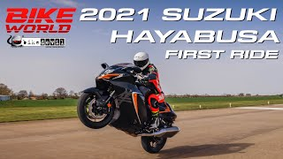 2021 Suzuki Hayabusa first ride | Road, Top Speed Run at 183mph & Crazy Wheelies