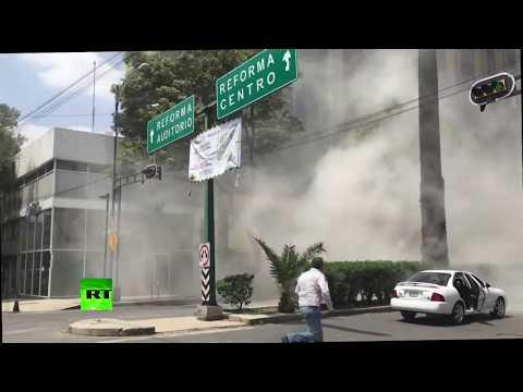 Deadly earthquake hits Mexico City