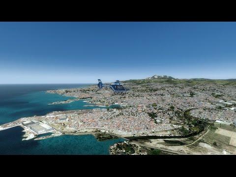 [P3D] PAT-MAR en EC-135 Gendarmerie | Fort-de-France | Fodfrans