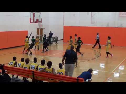 BWSL 8th Grade  VS Lights Out 5 March 17