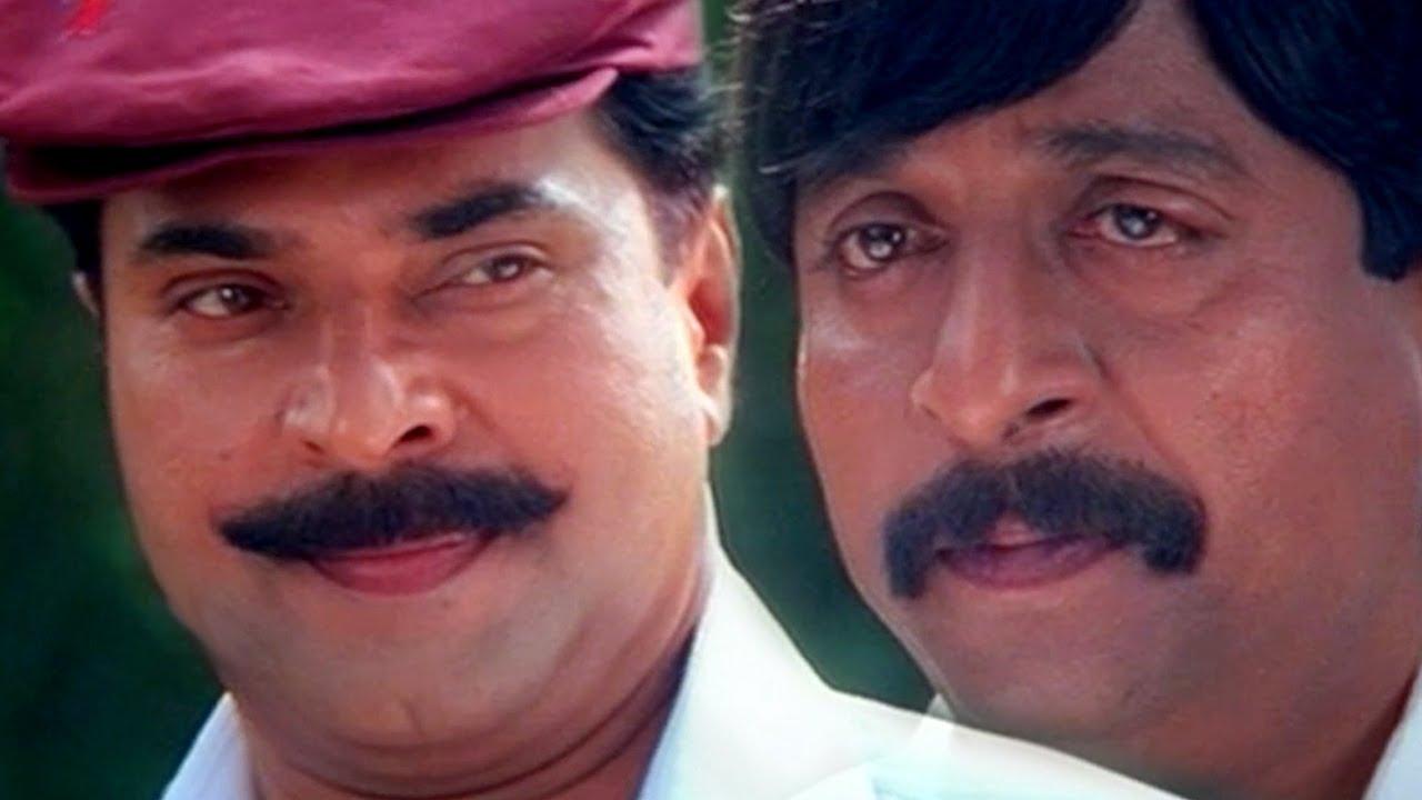 ഞാനാരാണെന്ന് ഈ നാട്ടിലെ പട്ടിക്കും പൂച്ചക്കും വരെ അറിയാം   Mammootty    Sreenivasan - YouTube