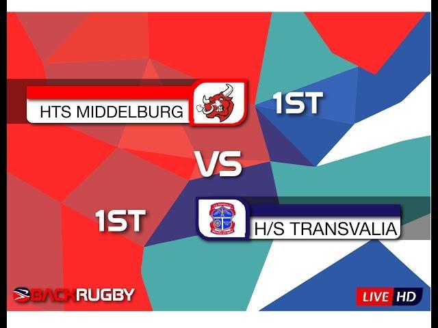HTS Middelburg 1XV vs HS Transvalia 1XV - 1st Half