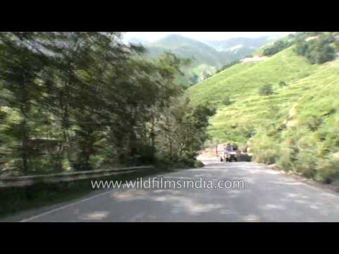 Driving from Jawahar tunnel to Banihal in Jammu and Kashmir - Part 5