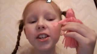 Как сделать куклу =(из шерстяных ниток)