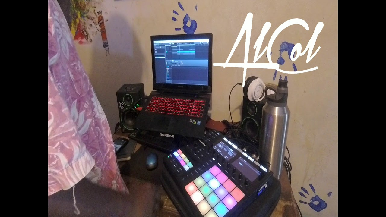 Maschine MK3: Making a Beat from a Water Bottle!