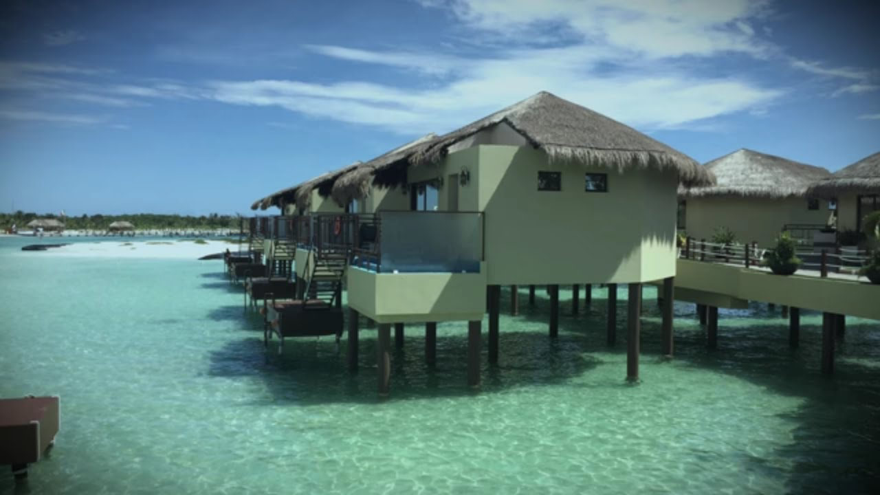 El Dorado Maroma Resort Overwater Bungalow