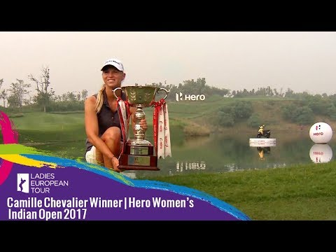 Camille Chevalier Winner | Hero Women's Indian Open 2017