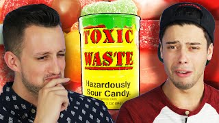 Men Reveal The Last Time They Cried While Eating Super Sour Candy