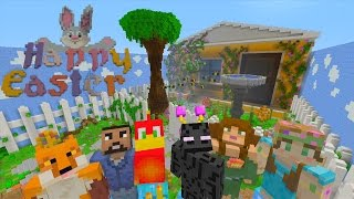 Minecraft XBOX - Hide and Seek - Bunny Hunt (Easter!)