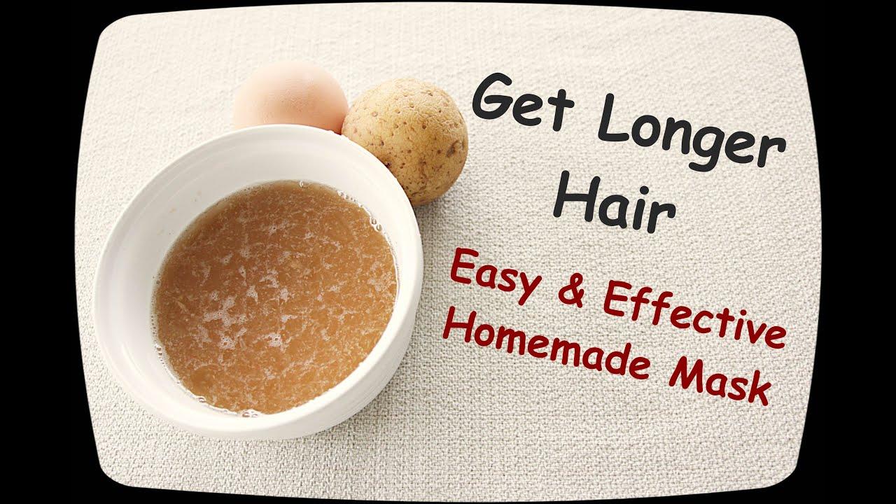 Get Longer Hair Naturally - YouTube
