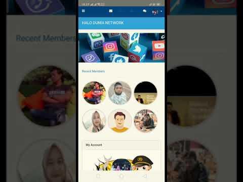 Aplikasi Platform Medsos Halo Dunia Network Versi Android