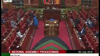 Chepalungu MP Gideon Koskei amazing speech in Parliament