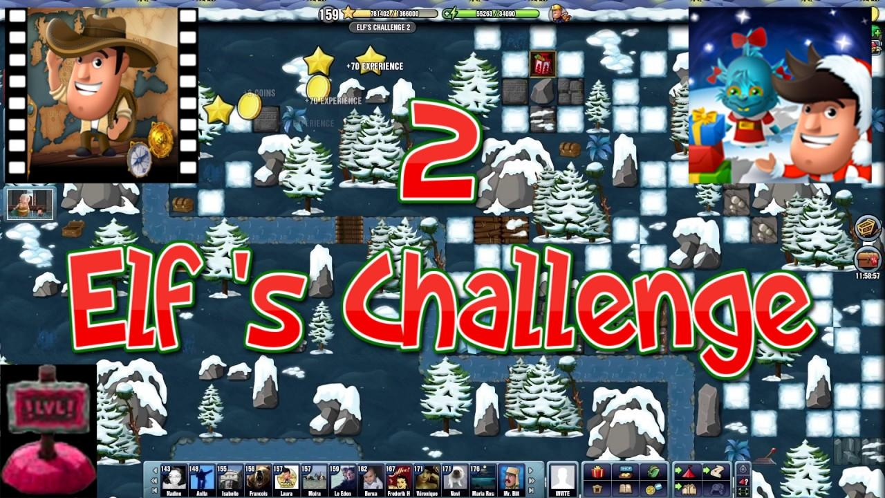 Christmas 2016~] # Elf\'s Challenge 2 - Diggy\'s Adventure - YouTube