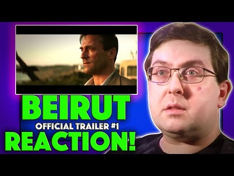 REACTION! Beirut Trailer #1 - Jon Hamm Movie 2018
