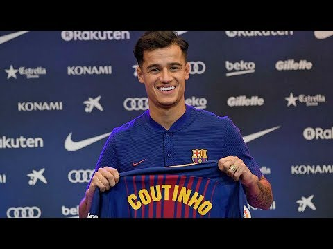 Coutinho Welcome To Barcelona! Official - Confirmed Winter Transfers 2018 ft. Coutinho, Van Dijk HD