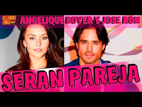 ANGELIQUE BOYER Y JOSE RON SERAN PAREJA!!