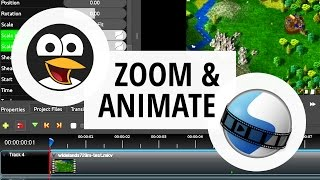 How To Zoom in OpenShot | Keyframe, Animation & Ease in/out Tutorial