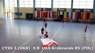 U15 boys. FINAL M02. Lajkonik cup 2017. UKS Krakowiak 85 - CYSS 3 (UKR) - 11:8 (1st half) 24/04