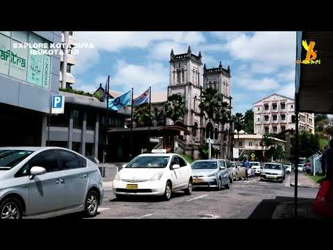 Explore kota Suva - Fiji
