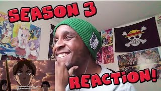 Attack On titan Season 3 Trailer Reaction!