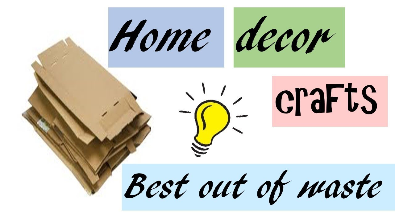 diy home decor from waste diy home decor crafts from best out of waste room 12091