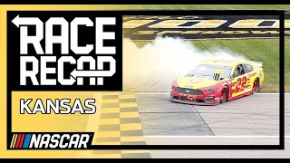 Quick Highlights: Playoff problems plentiful at Kansas Speedway | NASCAR Cup Series