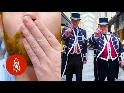 Thumbnail: The English Officers Policing Politeness