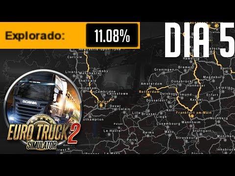 EURO TRUCK SIMULATOR 2 / DIA 5 / Ultima ruta del año!!