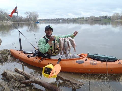 Kayak Fishing: #12 Shearon Harris Winter Experience