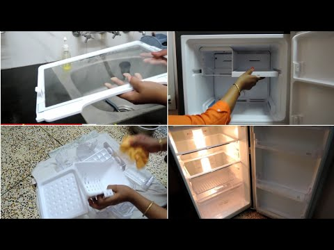 How To Clean A Fridge | How to Deep Clean Fridge