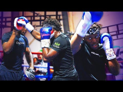 KSI & DEJI PUBLIC WORKOUT