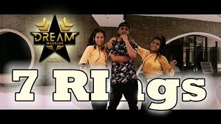 7 Rings || Dance Cover || Choreography by Rajesh Sharma || Dream warrior Dance Centre