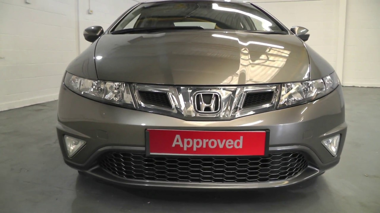 Honda Civic 1 8 Es Finished In Galaxy Grey Metallic Video Walkaround