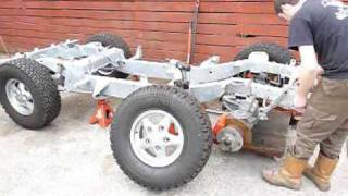 TIme lapse Land Rover Build Part 1