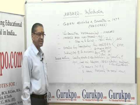 NABARD- Introduction (BBA, MBA, B.Com., M.Com.) Lecture by Mr. B.K.Jain