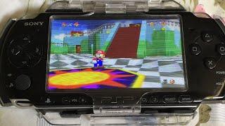 Descargar Emulador de Nintendo 64 para PSP