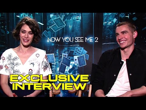 Exclusive Lizzy Caplan & Dave Franco Interview for NOW YOU SEE ME 2 (2016) JoBlo.com