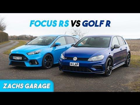 Ford Focus RS Vs Golf R