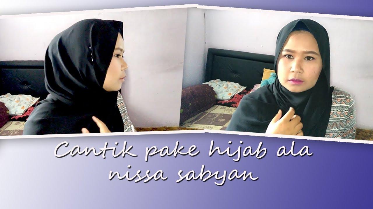 hijab ala nissa sabyan | pashmina simple | tutorial pashmina simple