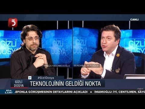 Yapay zeka nedir? - Serdar Kuzuloğlu - Hamza Yardımcıoğlu - Gizli Dosya -  06.01.2019