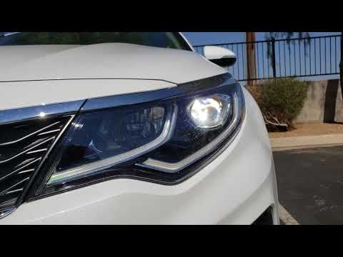 How To: 2016-2018 Kia Optima LED Headlight Install – ENLIGHT Low & High Beams