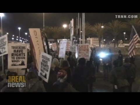 Occupy Oakland Closes Ports