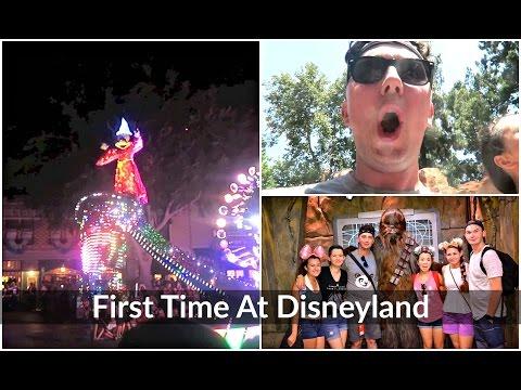 First Time At Disneyland | Los Angeles 2016 |  Ollie Walker