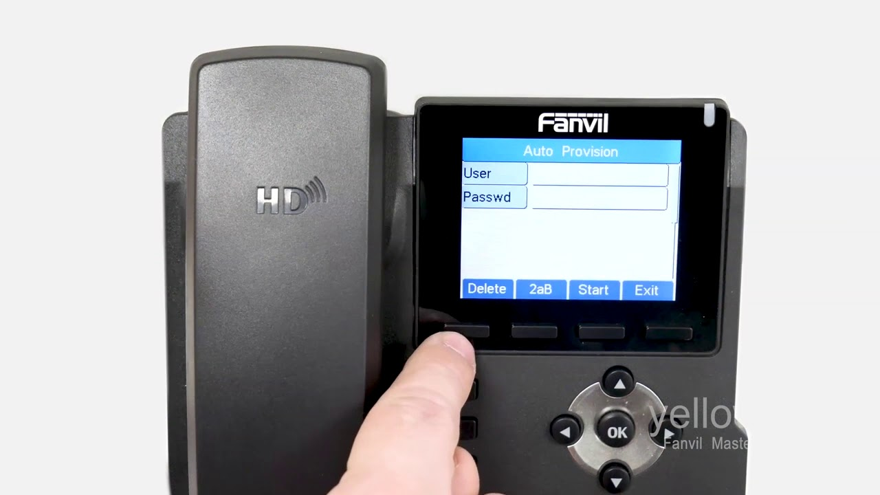 How To Remotely Provision A Fanvil Phone on 3CX?