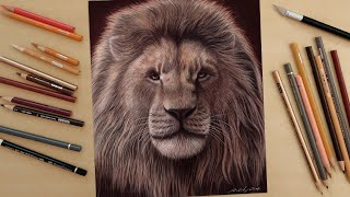 Speed Drawing: Mufasa   The Lion King