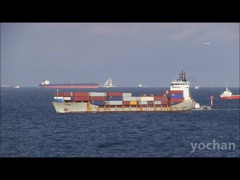 Container Ship: JI HONG (Jipeng Fuzhou Shipmanagement, IMO: 9064956) at Tokyo Bay