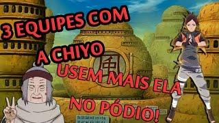 [Equipe/Chiyo] Naruto Online | Equipe com a Chiyo | Olho da Chamas