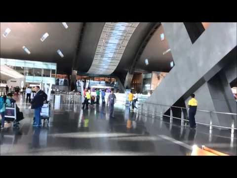 ULTRA MODERN Qatar Hamad Int'l Airport - Doha 2016_Best Places to Visit Around the World
