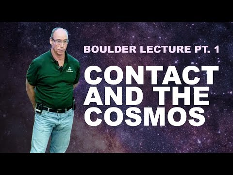 Contact and the Cosmos (Boulder Lecture Pt. 1)