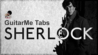 LIBRARY BOOKS Sherlock BBC OST for Fingerstyle Guitar from Guitar Me School by Aleksandr Chuiko